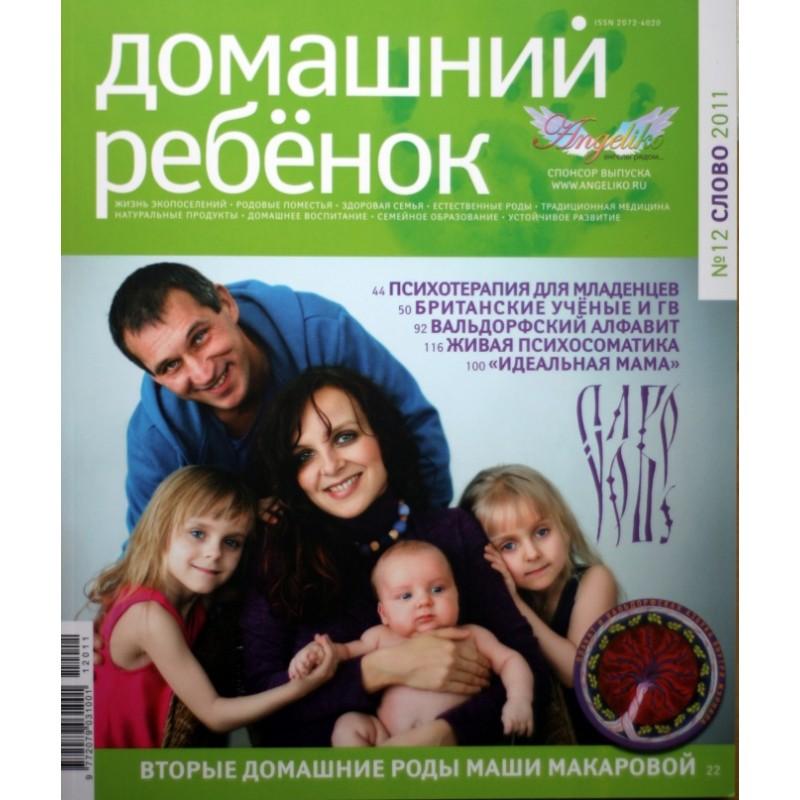 "Журнал ""Домашний ребенок"" № 12"