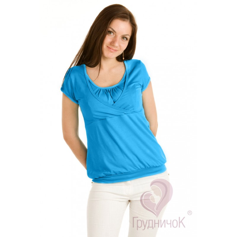 Блуза Аквамарин