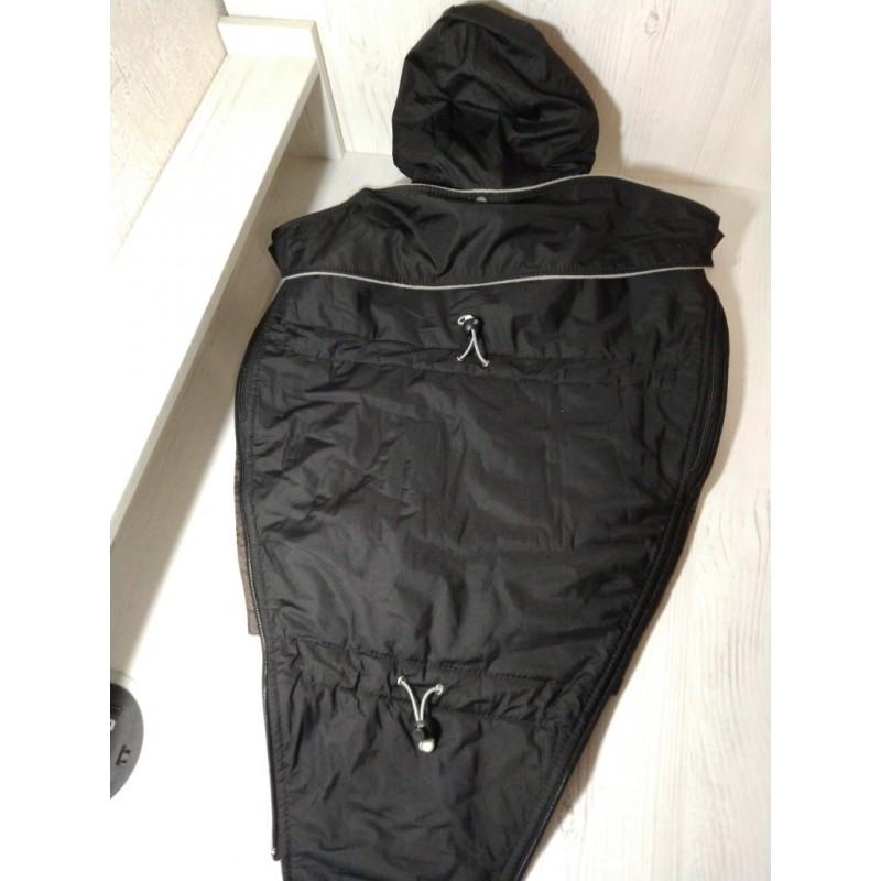 Вставка в куртку черная